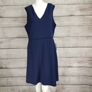 NWT The Vanity Room XL V-Neck Fit & Flare Dress